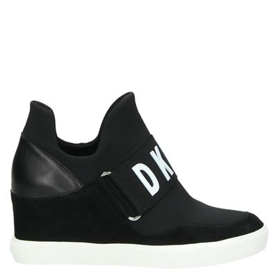 DKNY dames sneakers zwart