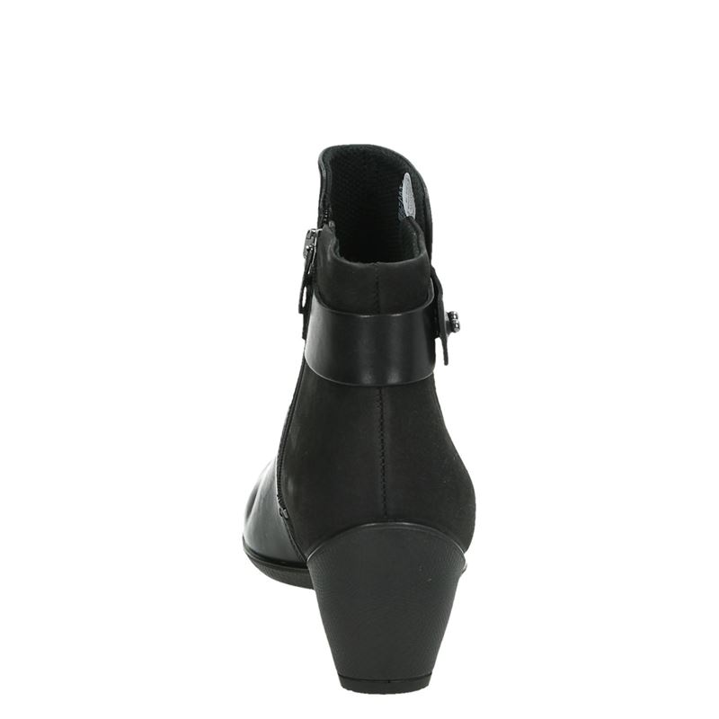 Ecco Sculptured 45 - Enkellaarsjes - Zwart