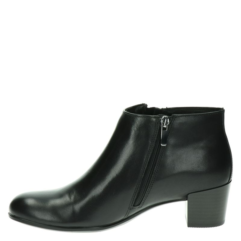 Ecco Shape M 35 - Enkellaarsjes - Zwart