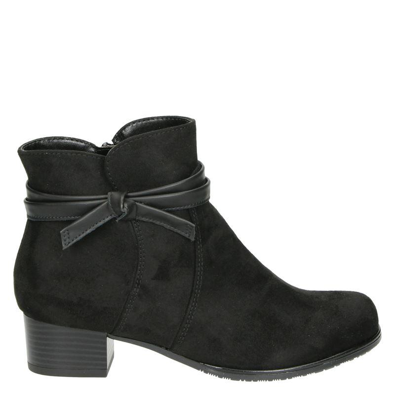 Jenny Catania ST - Enkellaarsjes - Zwart