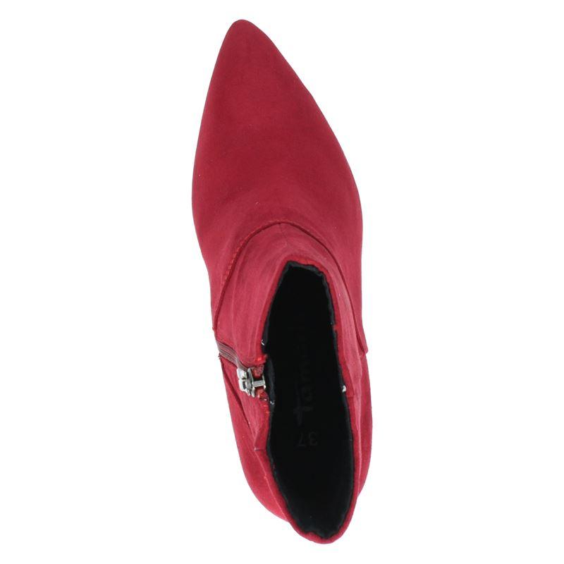 Tamaris - Enkellaarsjes - Rood
