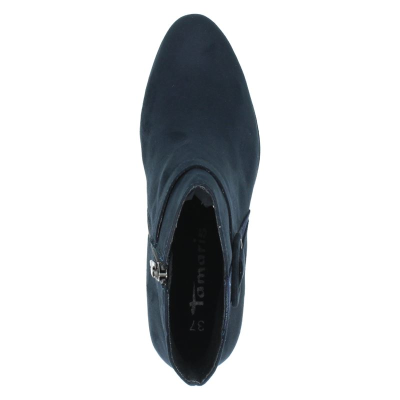 Tamaris - Enkellaarsjes - Blauw