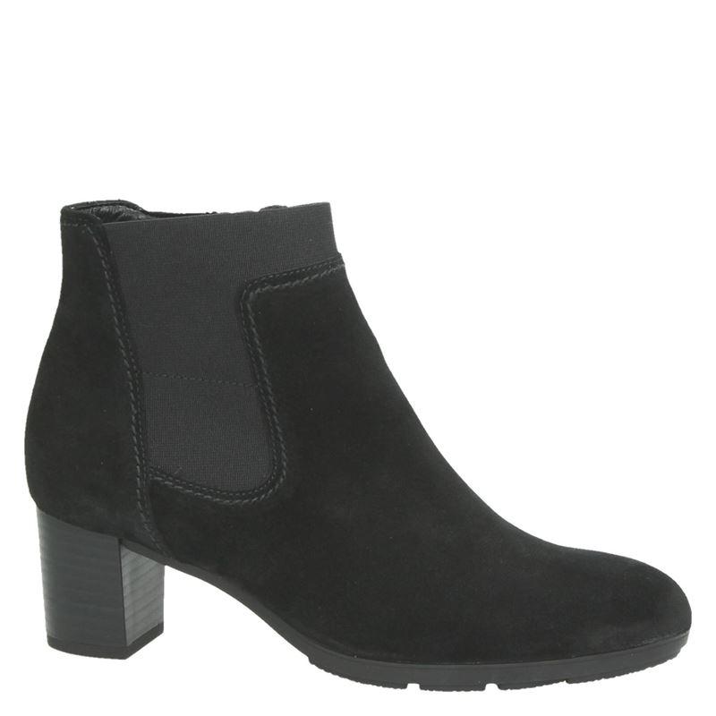 Zwart 244 30 Gabor 10 Gesloten Dames 617 Ritsamp; Boots rxeCBod