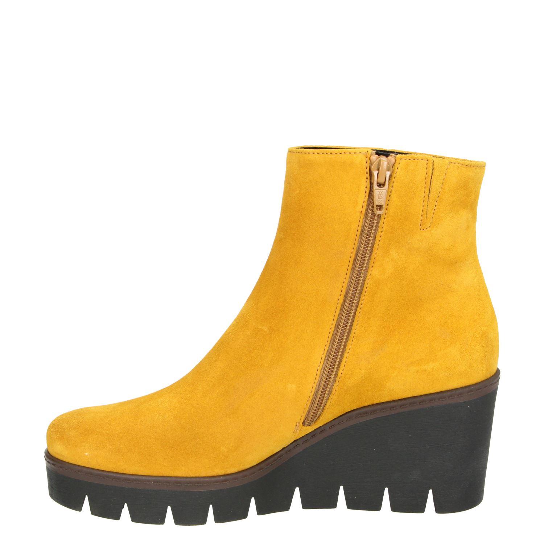 gabor enkellaarsjes geel