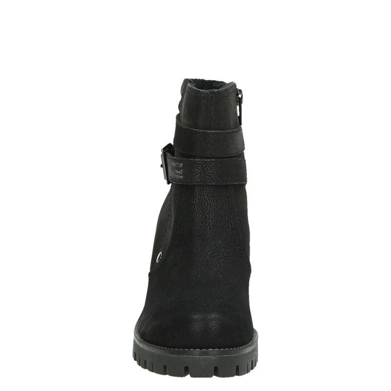 S.Oliver - Rits- & gesloten boots - Zwart