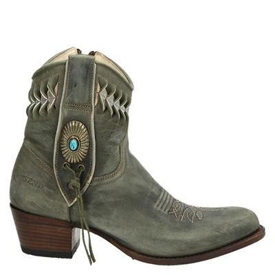 Sendra dames laarzen kaki