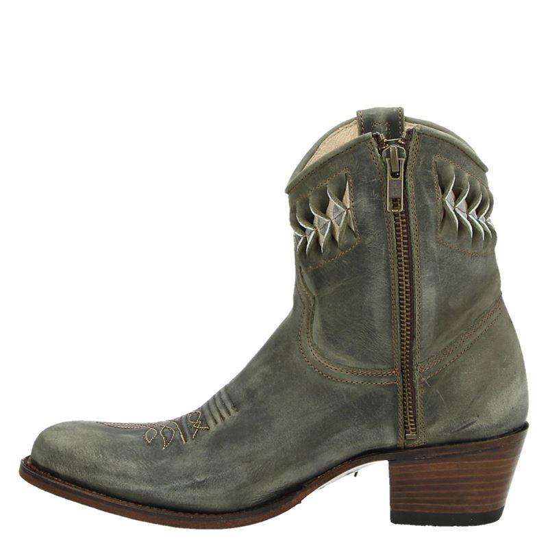 Sendra 14095 Debora - Cowboylaarzen - Groen