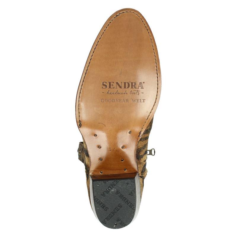 Sendra 15952 Debora - Enkellaarsjes - Bruin