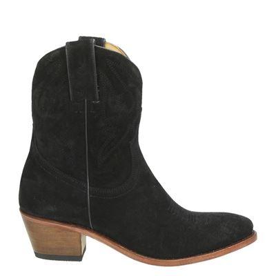 Perlita Peaches dames laarzen zwart