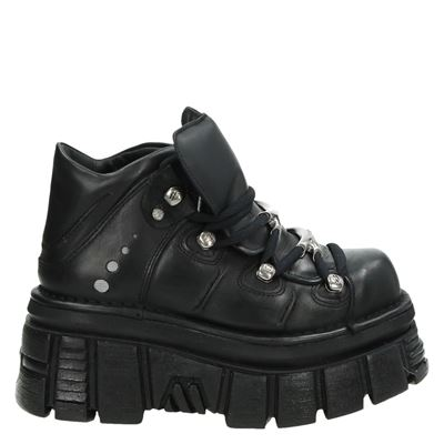 New Rock dames sneakers zwart