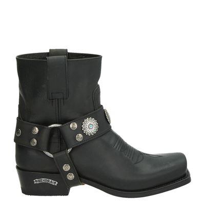 Sendra dames laarzen zwart