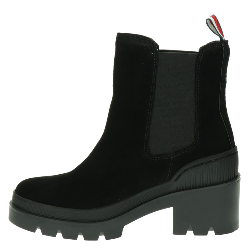 Tommy Hilfiger Sport Sporty Chunky Chelse - Rits- & gesloten boots - Zwart