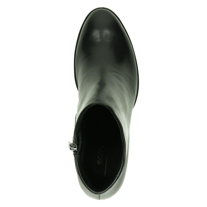 Ecco Shape 55 Western - Enkellaarsjes - Zwart