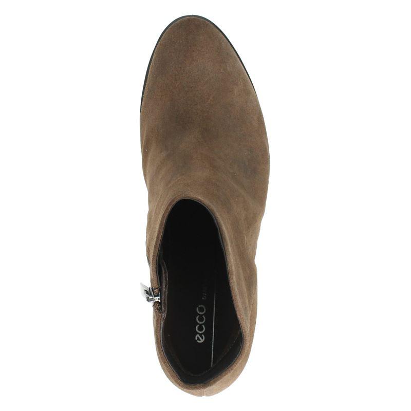 Ecco Shape 55 Western - Enkellaarsjes - Bruin