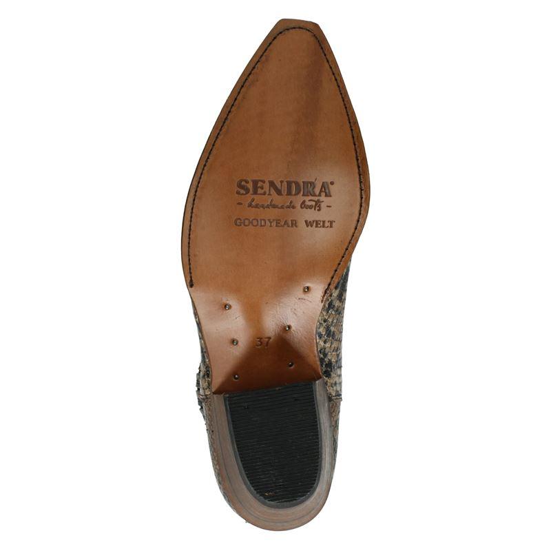 Sendra 15978 Lia - Enkellaarsjes - Cognac