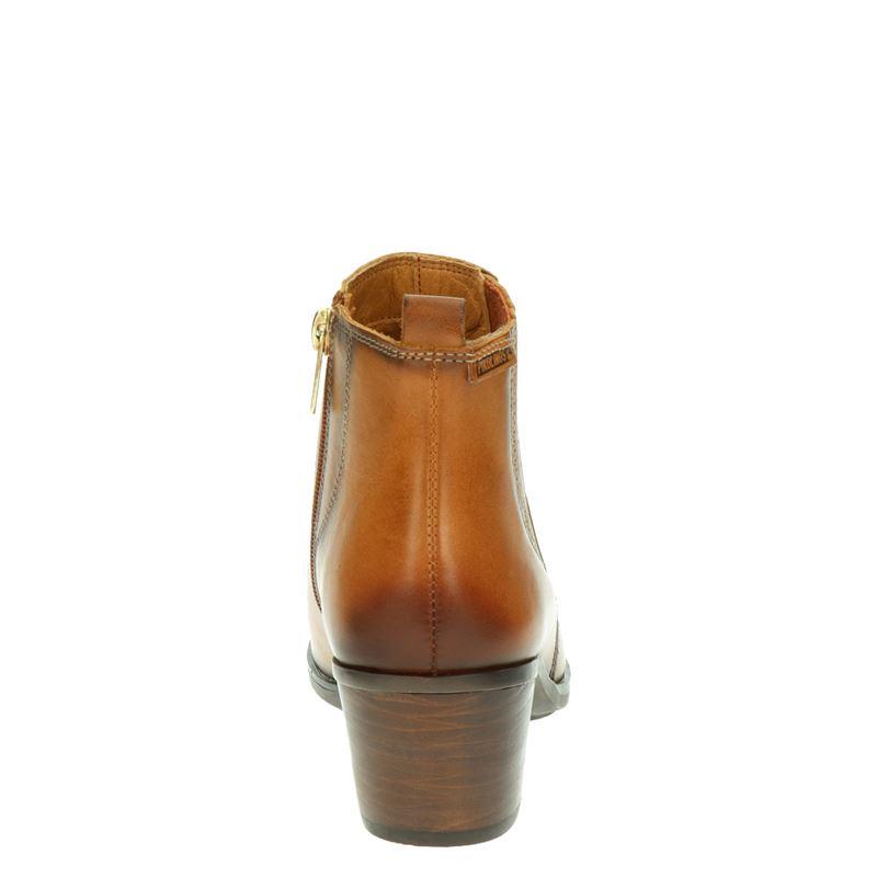 Pikolinos Huelma - Enkellaarsjes - Cognac