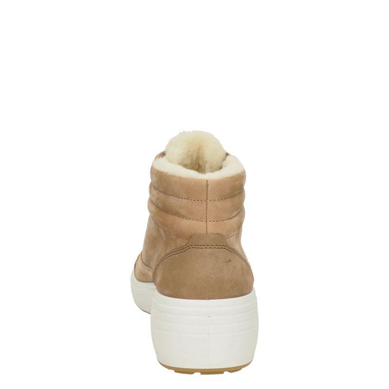 Ecco Soft 7 Wedge - Veterboots - Cognac