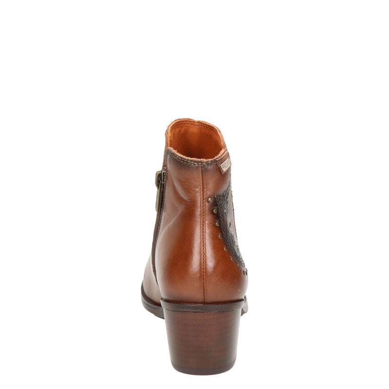 Pikolinos Cuenca - Enkellaarsjes - Cognac