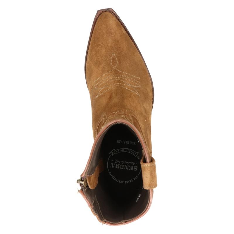 Sendra - Rits- & gesloten boots - Cognac