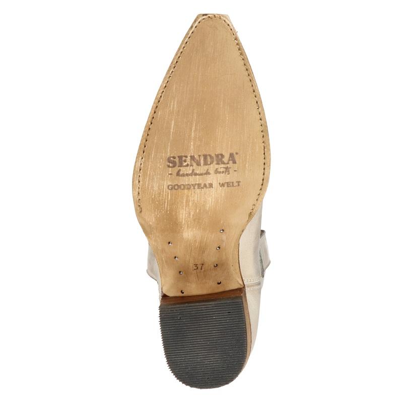 Sendra Gene Berdy - Enkellaarsjes - Ecru