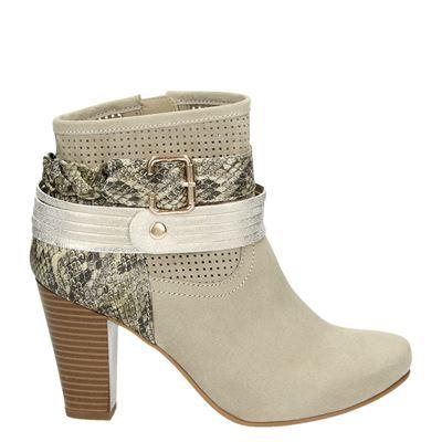 Hobb's dames laarzen beige