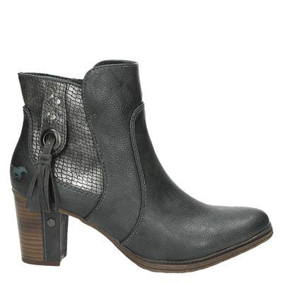 Mustang dames laarzen grijs