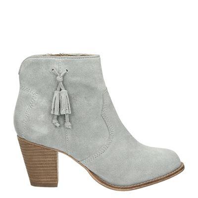 Piure dames laarzen grijs