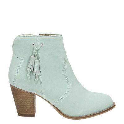 Piure dames laarzen groen
