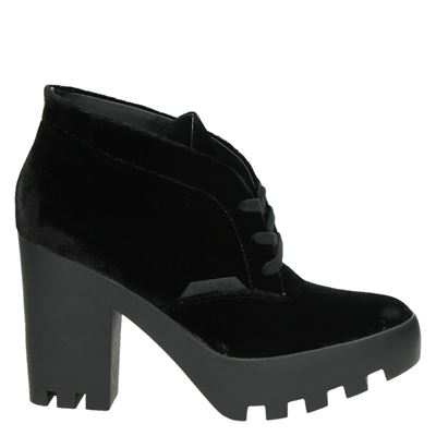 Calvin Klein dames enkellaarsjes zwart