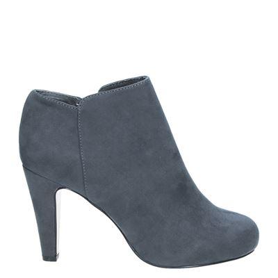 La Strada dames enkellaarsjes grijs