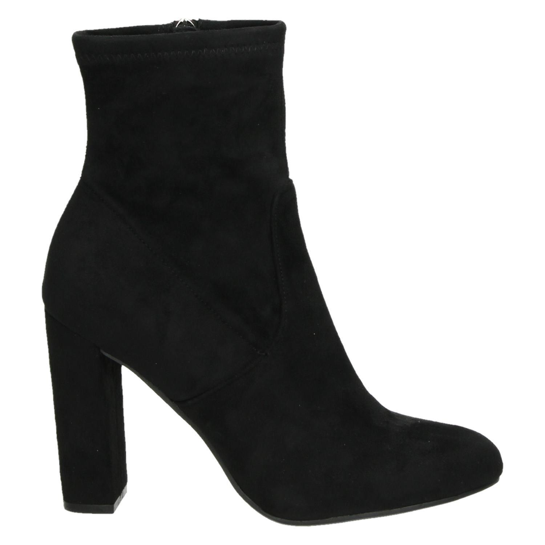 Étoile Collection Bottines En Velours Noir Femmes (taille 36, Noir)