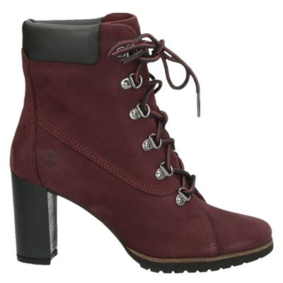 Timberland dames boots rood