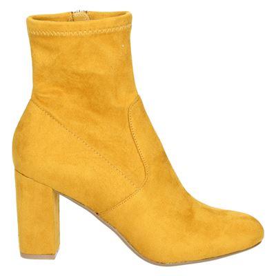 Steve Madden dames enkellaarsjes geel