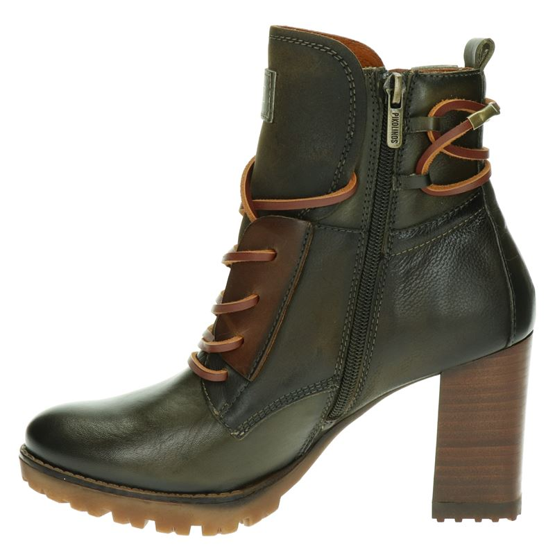 Pikolinos Connely - Veterboots - Groen