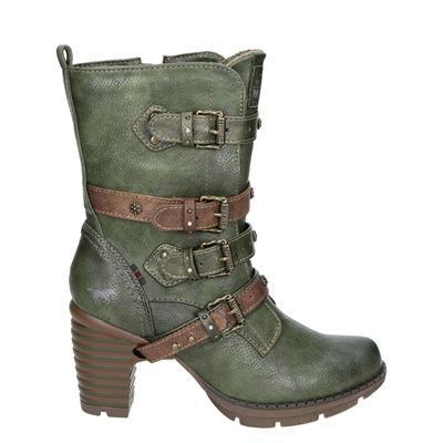 Mustang dames boots groen