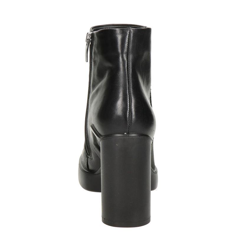 Ecco Shape sculpted motion 75 - Enkellaarsjes - Zwart