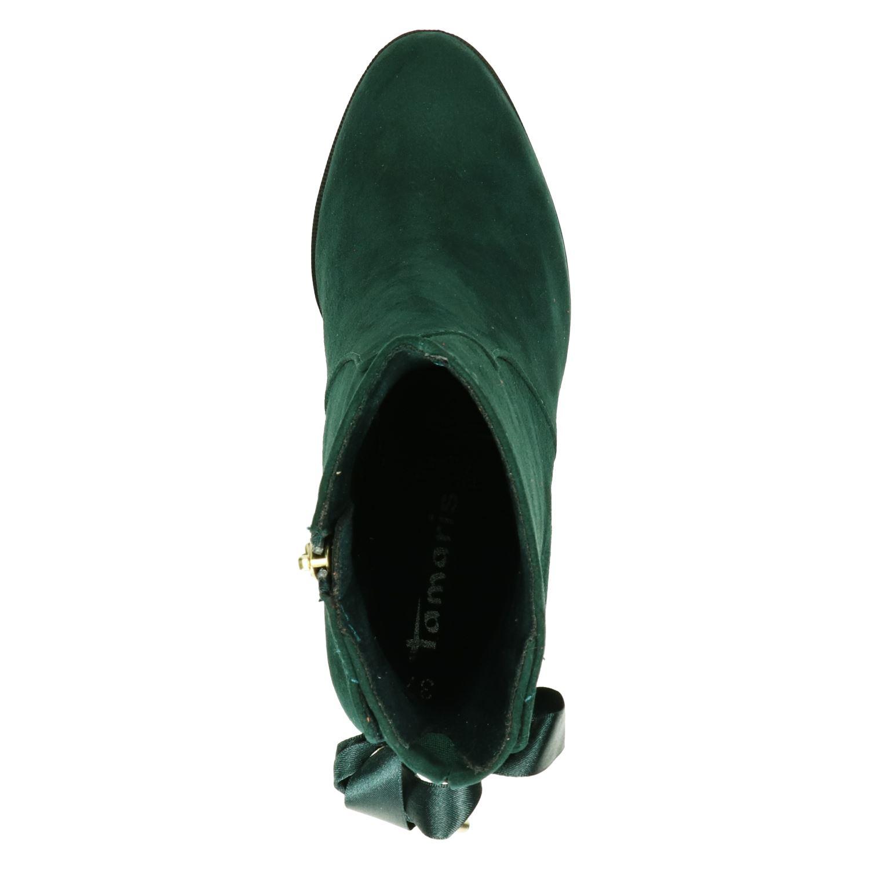 enkellaarsjes groen tamaris
