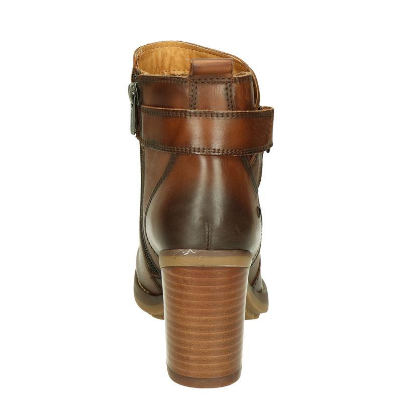 Pikolinos Pompeya - Enkellaarsjes - Cognac