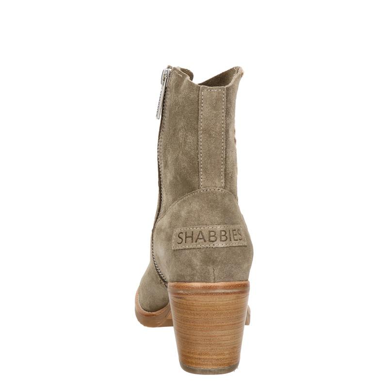 Shabbies Amsterdam - Enkellaarsjes - Taupe