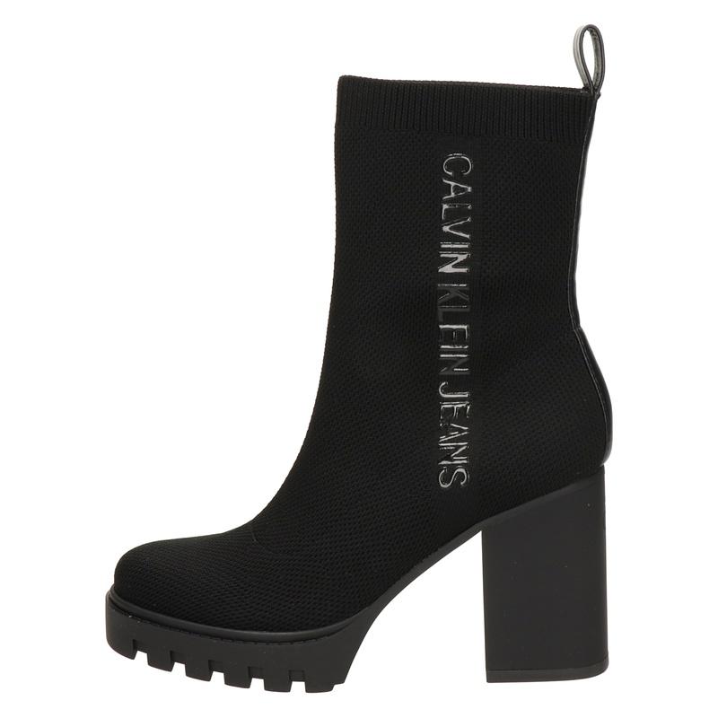 Calvin Klein - Enkellaarsjes - Zwart