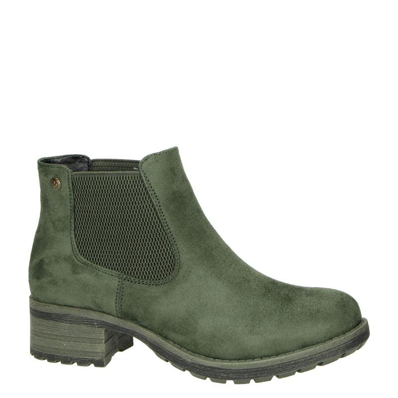 Rieker - Chelseaboots - Kaki