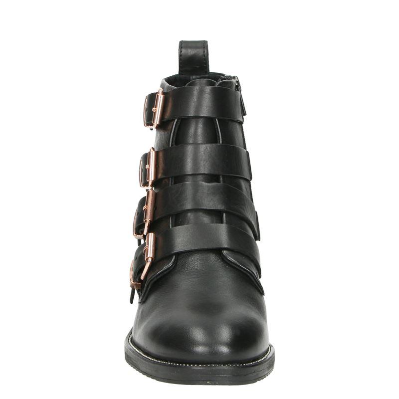 Nelson - Rits- & gesloten boots - Zwart
