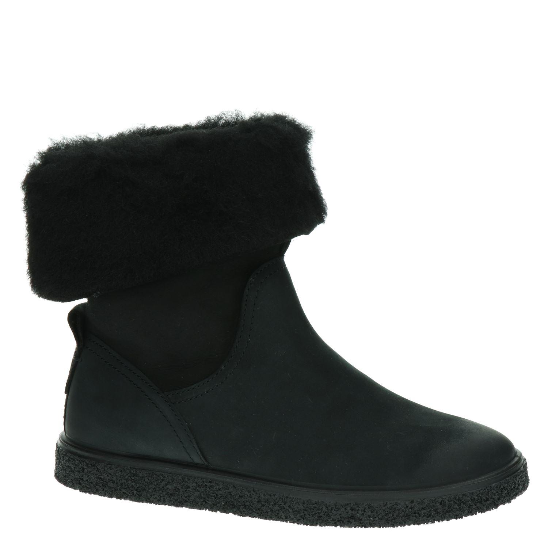 Ecco Crepetray - Rits- & gesloten boots voor dames - Zwart 8WpKw0o