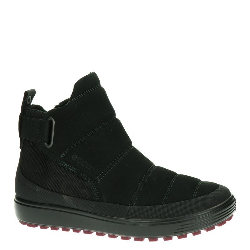 Ecco Soft 7 Tred - Rits- & gesloten boots - Zwart