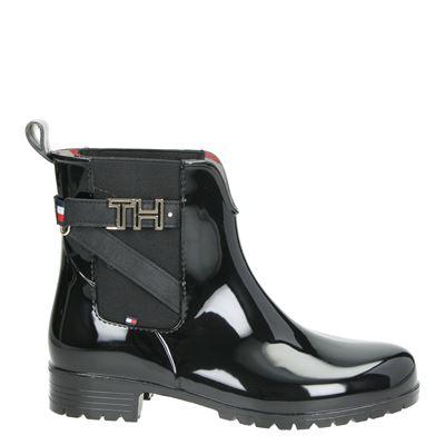 Tommy Hilfiger Sport dames laarzen zwart