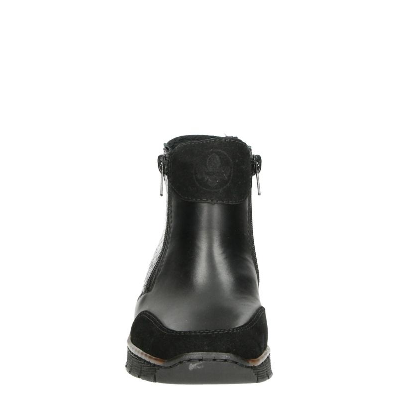 Rieker - Enkellaarsjes - Zwart