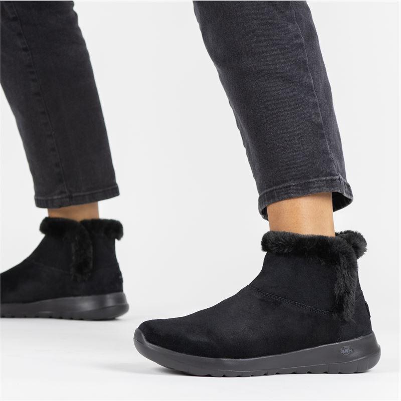 Skechers On the go - Rits- & gesloten boots - Zwart