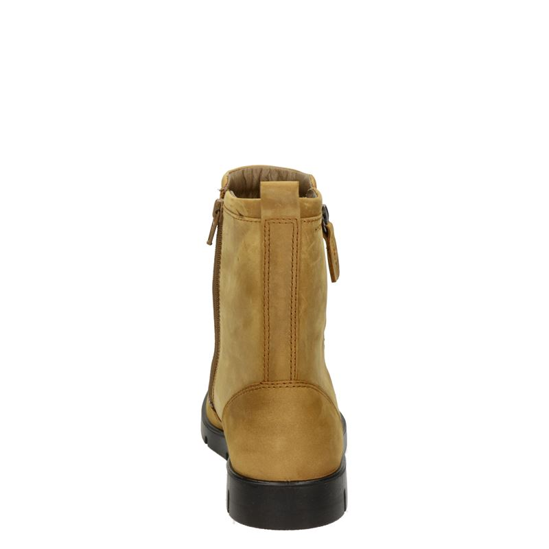 Ecco Bella - Rits- & gesloten boots - Cognac