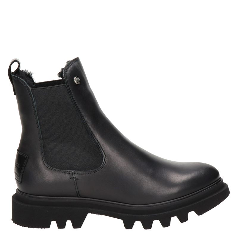 Panama Jack Thais Igloo - Chelseaboots - Zwart