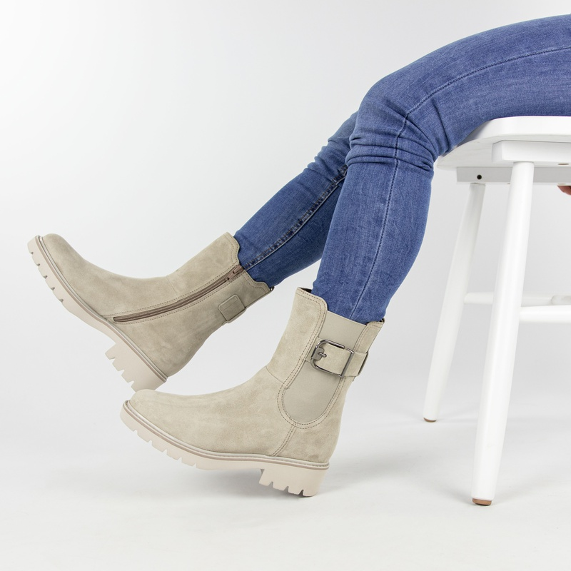 Gabor - Chelseaboots - Taupe